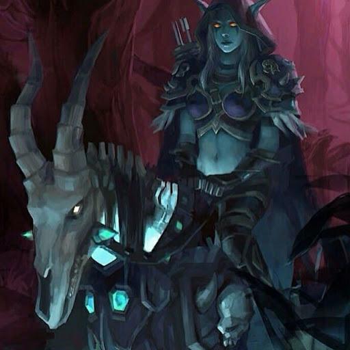 Wow Troll Hunter Mount Hyjal Chrome Theme Themebeta