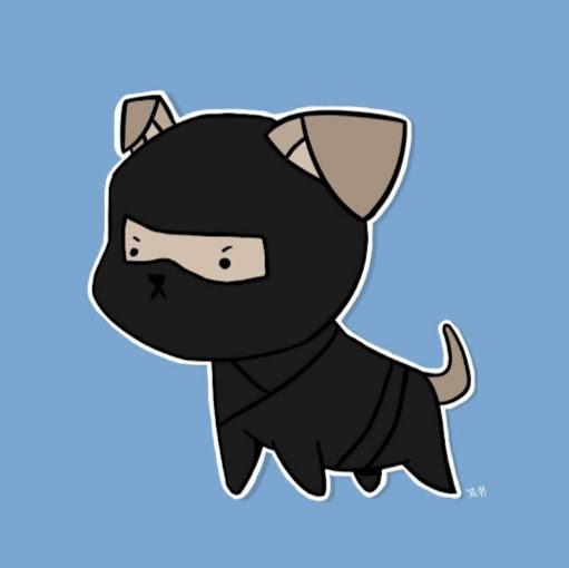Картинки собаки ниндзя