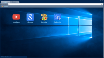 Windows 10 Default Theme Dark Blue Chrome Themes - ThemeBeta