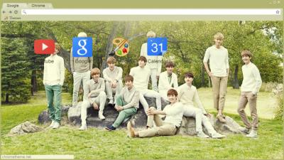 Exo Chrome Themes Themebeta