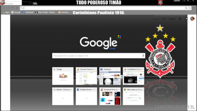tema do corinthians para google chrome