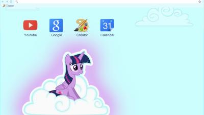 My Little Pony Google Chrome Theme Chrome Themes - ThemeBeta