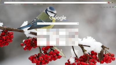 Animals chrome themes page 5 themebeta - Winter theme chrome ...