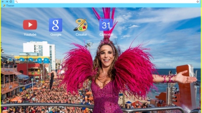 carnaval com ivete chrome themes themebeta