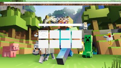 Minecraft Theme Chrome Themes - ThemeBeta