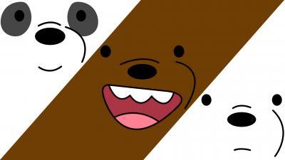 We Bare Bears Chrome Themes Themebeta