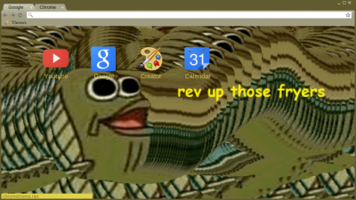Rev Up Those Fryers Chrome Themes Themebeta A place to share modded gifs that repeat the featured subject multiple times or cloned gifs. rev up those fryers chrome themes
