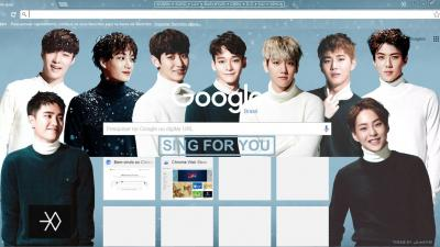 Sehun Chrome Themes Themebeta