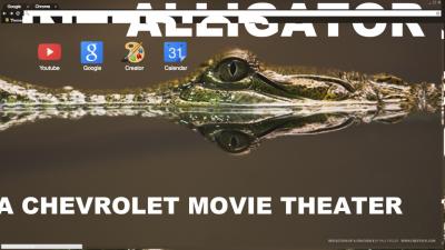 Interior Crocodile Alligator Chrome Themes