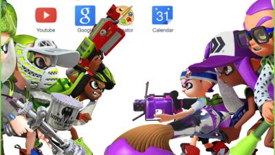Wii U Colour Game Chrome Themes - ThemeBeta