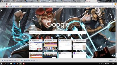 mobile MOBA Chrome Themes - ThemeBeta