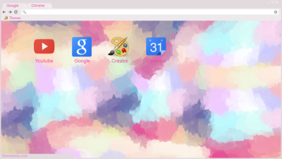 Pastel Chrome Themes