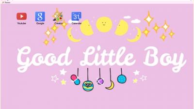 little space Chrome Themes - ThemeBeta