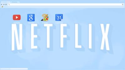 pastel netflix Chrome Themes - ThemeBeta