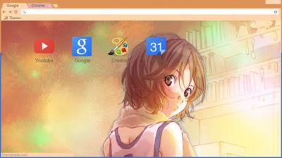 Shigatsu Wa Kimi No Uso Chrome Themes Themebeta