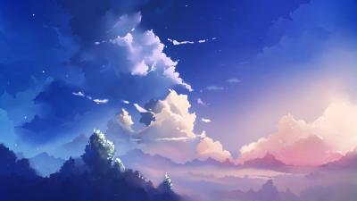 1080p Anime Scenery Chrome Theme Themebeta