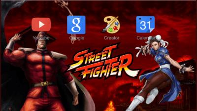 street fighter Chrome Themes - ThemeBeta