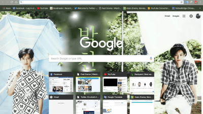 EXO Chrome Themes - ThemeBeta