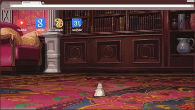 Studio Ghibli Spirited Away Chrome Themes Themebeta