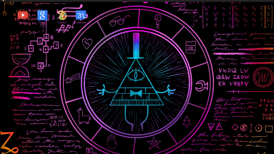 gravity falls bill cipher human