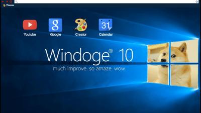 Doge Chrome Themes Themebeta