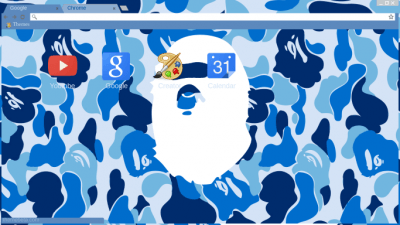 Bape Chrome Themes Themebeta