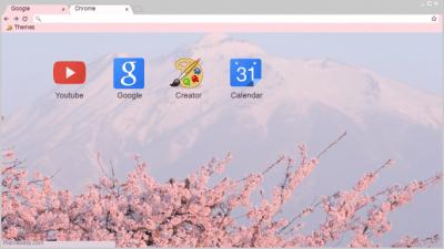 Sakura Chrome Themes - ThemeBeta