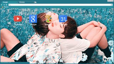 jikook Chrome Themes - ThemeBeta
