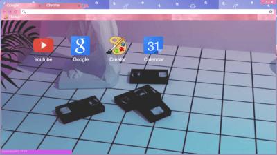 aesthetic tumblr Chrome Themes - ThemeBeta