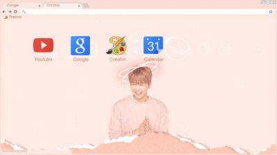 Wannaone Chrome Themes Themebeta