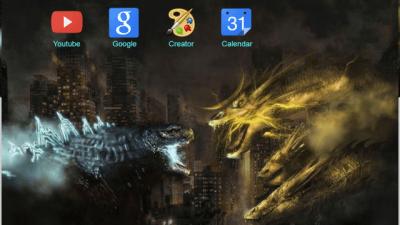 godzilla Chrome Themes - ThemeBeta