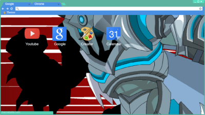 Dragonfable Chrome Themes - ThemeBeta