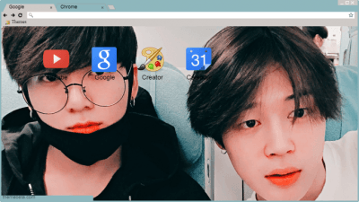 Jikook Chrome Themes Themebeta