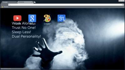 Hackers Anonymous Gamer Theme Chrome Themes - ThemeBeta