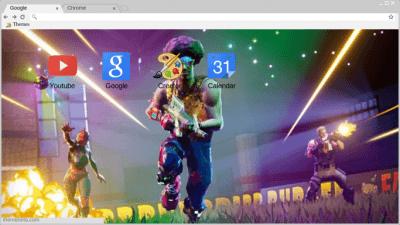 fortnite background Chrome Themes  ThemeBeta
