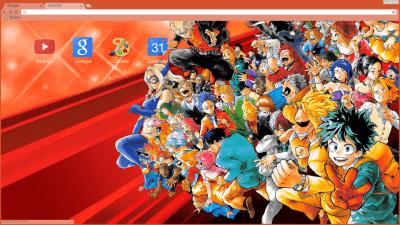 Boku No Hero Academia Chrome Themes Themebeta