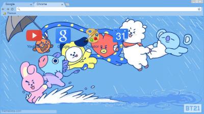 Bt21 Chrome Themes Themebeta