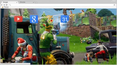 Fortnite Christmas Background Png.Fortnite Battle Royale Chrome Themes Themebeta