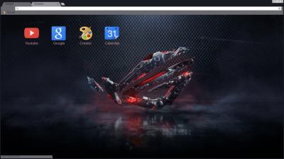 ASUS Chrome Themes