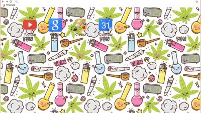 Marijuana Chrome Themes Themebeta