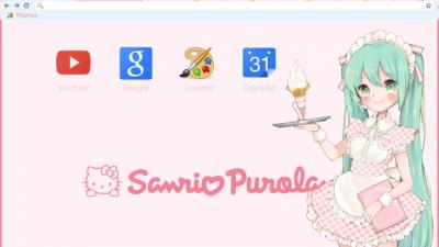 Pastel Pink Chrome Themes Themebeta
