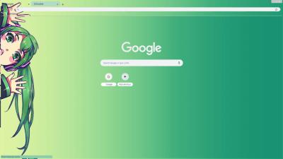 hatsune miku Chrome Themes - ThemeBeta