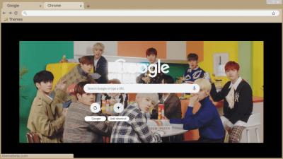 Wanna One Chrome Themes Themebeta
