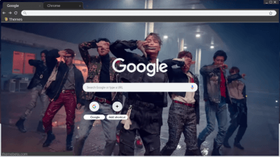 Chanyeol Chrome Themes Themebeta