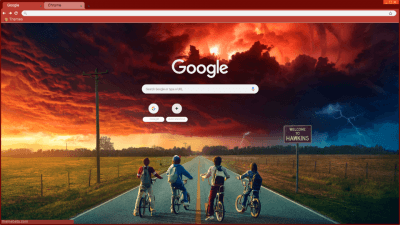 Stranger Things Chrome Themes - ThemeBeta