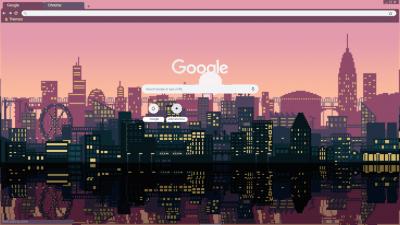 pixel Chrome Themes - ThemeBeta