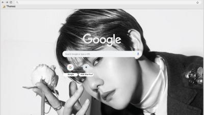 Baekhyun Chrome Themes Themebeta