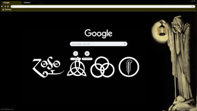 Led Zeppelin Chrome Themes Themebeta