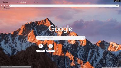 MacOS Chrome Themes - ThemeBeta