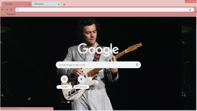 Harry Styles Chrome Themes Themebeta